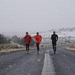 Training bei (Schnee-)regen