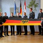 Schwur auf das Grundgesetz und alle in Deutschland geltenden Gesetze (Foto: P. Pohle)