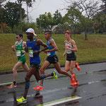 Marathon der Männer, mit dabei hier Philipp Flieger