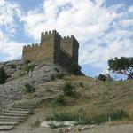 Генуэзская крепость, башни