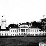 Вид на дворец с фасада, фото нач. 20 века