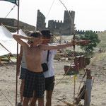 Стрельба из лука. г. Судак, Генуэзская крепость