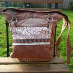 Patchworktasche andere Seite mit kleiner Tasche Nr. 5