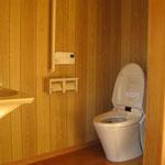 車椅子利用可能なトイレ:新築