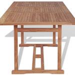tavolo teak +arredo +giardino +legno