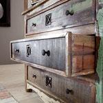 comò #mobiletto #cassettiera #legno #riciclato #recupero