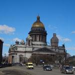 聖イサク大聖堂です