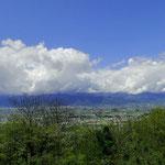 GW中に、松本のアルプス公園へ行ってきました。