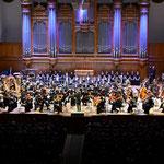 8日目。モスクワ音楽院大ホールで最終公演。