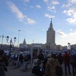 モスクワ到着。