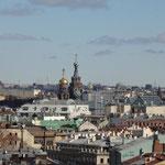イサク大聖堂からの眺めです。