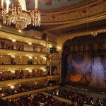 劇場内、綺麗です。音響も素晴らしかった。