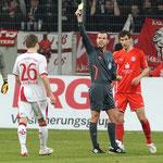 Unser Schiedsrichter Marco Fritz bei der Partie 1. FC Kaiserslautern - Fortuna Düsseldorf