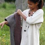 Leinenhemd aus naturfarbenen Leinen aus dem Mühlviertel