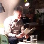 """Lesung im feb. 2018 mit Robert Kranner . Der Autor las aus """"Weissdorn """"."""