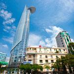 Der Bitexo Financial Tower. Das höchste Gebäude Saigons
