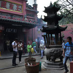 Die Jade-Kaiser-Pagode in Saigon