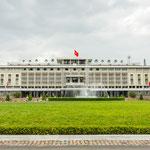 Der Wiedervereinigungspalast in Ho-Chi-Minh-Stadt