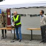 Begrüßung durch Markus Loerzer (Sparkasse SG-Wald)