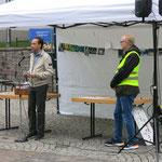 Eröffnung durch Bürgermeister Thilo Schnor