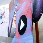 HAUSLING, 2015, object, 210x120x50cm