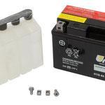 Unibat Wartungsfrei CT7B-BS (12 V 6,5 AH) (50701), Maße in mm :(LxBxH) 150x65x93, Gewicht : 2,3 kg, Batterieleistung im kalten Zustand(CCA): 85