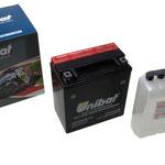 Unibat Wartungsfrei CBTX16-BS (12 V 14 AH) (81600), Maße in mm :(LxBxH) 150x87x161, Gewicht : 5,4 kg, Batterieleistung im kalten Zustand(CCA): 230