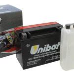 Unibat Wartungsfrei CBTX15L-BS (12 V 13 AH) (81500), Maße in mm :(LxBxH) 175x87x130, Gewicht : 4 kg, Batterieleistung im kalten Zustand(CCA): 230