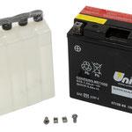 Unibat Wartungsfrei CBTX20CH-BS (12 V 18 AH) (82002), Maße in mm :(LxBxH) 150x87x161, Gewicht : 4,26 kg, Batterieleistung im kalten Zustand(CCA): 270