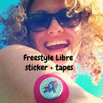 Zuckerschmuck® tapes and stickers for Freestyle Libre