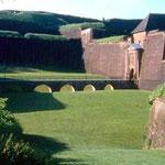 Les fossés devant la porte de Brisach