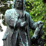 Johann Sebastian Bach wurde 1685 in Eisenach geboren.