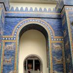 Ischtar-Tor aus Babylon im Pergamonmuseum.