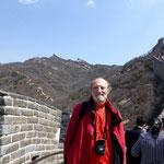 Ich auf der Großen Mauer
