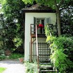 Jena: Schillers Gartenhaus, in dem er den Wallenstein schrieb.