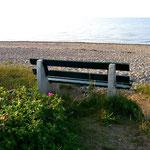 Der Nachmittag am Strand von Hohenfelde ...