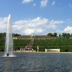 Blick auf Schloß Sanssouci