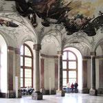 ... die wegen ihrer barocken Ausstattung berühmt ist.