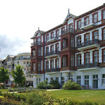 Die Hotels in Ahlbeck sind bunter ...