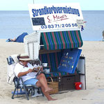 Strandkorbvermieterin