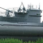 Ein Unterseeboot in Laboe ...
