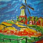 Von Ernst Ludwig Kirchner auf Fehmarn gemalt (während seines Urlaubs 1909).