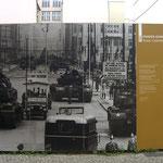 An die Panzerkonfrontation 1961.