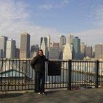 Brooklyn mit Blick auf Manhatten