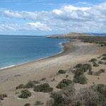 Küste im Nationalpark Monte Leon.