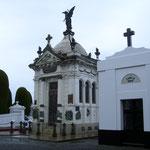 Friedhof in Punta Arenas. Familiengräber.