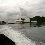 Memorial USS Arizona in Pearl Harbour