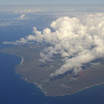Anflug auf Big Island