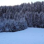 Wetterumschwung brachte Abkühlung und ein wenig Schnee im Tal