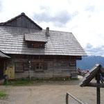 zum Wanderziel - die Kohlröslhütte